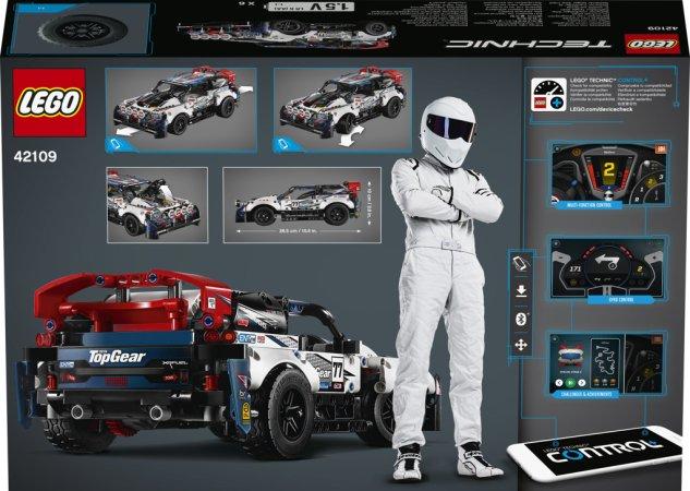 LEGO Technic 42109 - RC Top Gear závodní auto