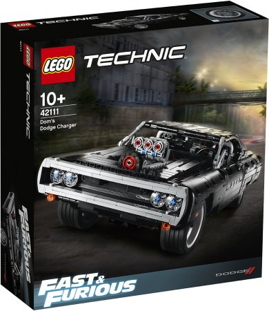 LEGO Technic 42111 - Domův Dodge Charger