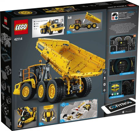 LEGO Technic 42114 - Kloubový dampr Volvo 6x6