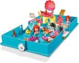 LEGO Disney 43176 - Ariel a její pohádková kniha dobrodružství