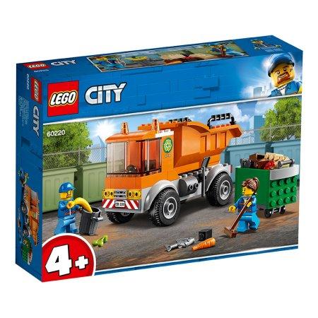 LEGO City 60220 - Popelářské auto