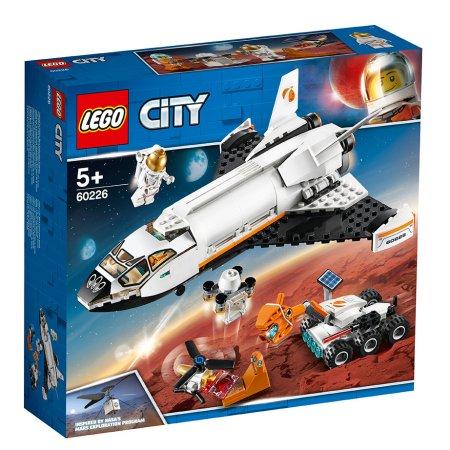 LEGO City 60226 - Raketoplán zkoumající Mars