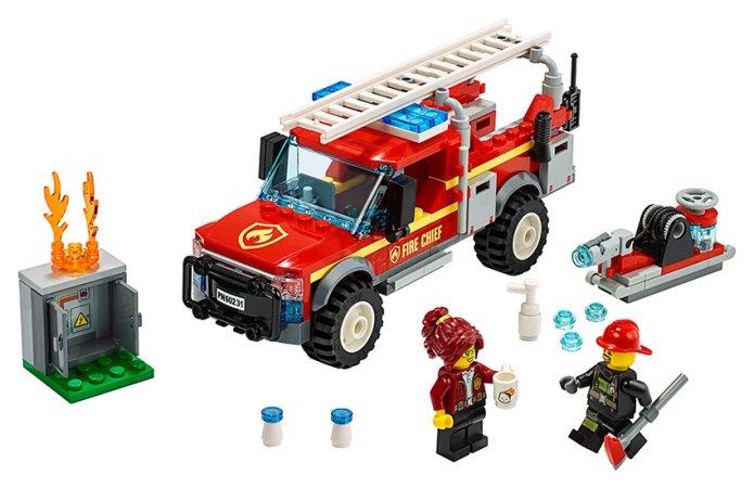 LEGO City 60231 - Zásahový vůz velitelky hasičů