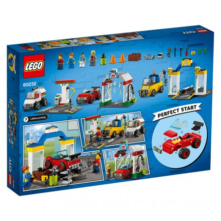 LEGO City 60232 - Autoservis