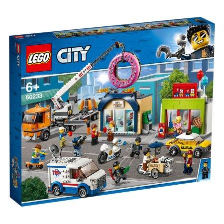LEGO City 60233 - Otevření obchodu s koblihami