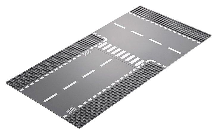 LEGO City 60236 - Rovná cesta s křižovatkou