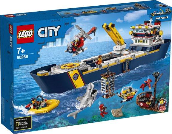 LEGO City 60266 - Oceánská průzkumná loď