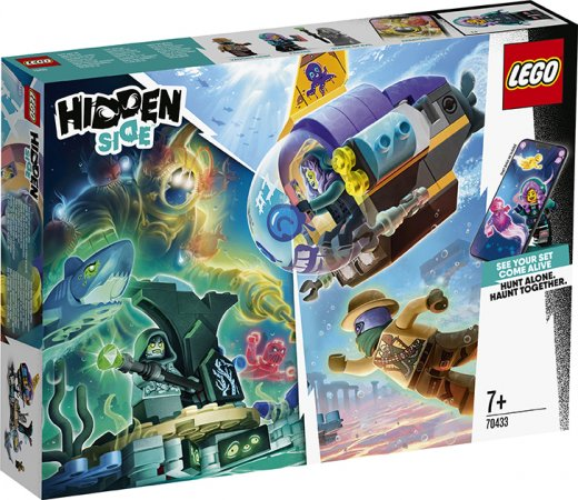LEGO Hidden Side 70433 - Ponorka J.B.