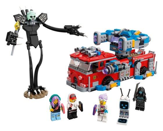 LEGO Hidden Side 70436 - Přízračný hasičský vůz 3000