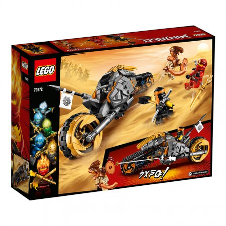 LEGO Ninjago 70672 - Coleova terénní motorka