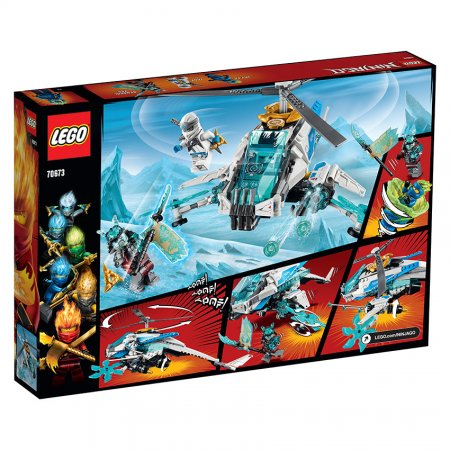 LEGO Ninjago 70673 - Nindžakoptéra