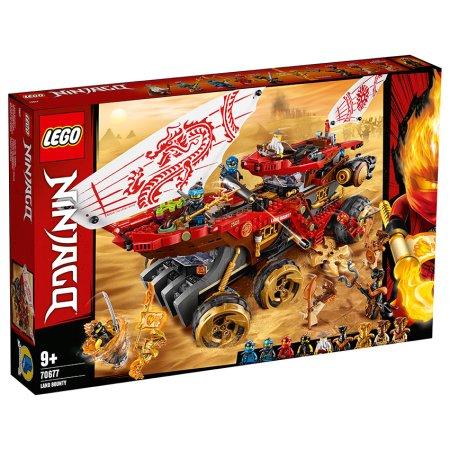 LEGO Ninjago 70677 - Pozemní Odměna osudu