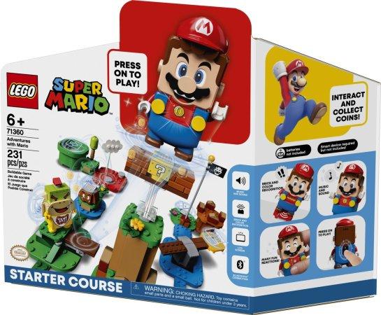 LEGO Super Mario 71360 - Dobrodružství s Mariem – startovací set