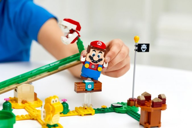 LEGO Super Mario 71365 - Závodiště s piraněmi - rozšířující set