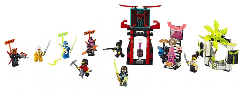 LEGO Ninjago 71708 - Hráčská burza