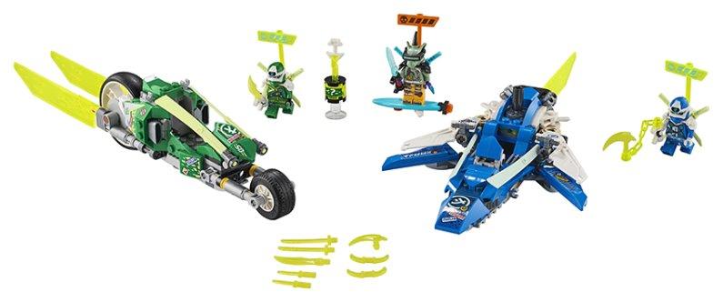 LEGO Ninjago 71709 - Rychlá jízda s Jayem a Lloydem