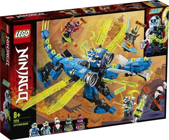 LEGO Ninjago 71711 - Jayův kyberdrak