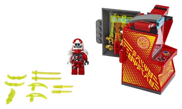 LEGO Ninjago 71714 - Kaiův avatar - arkádový automat