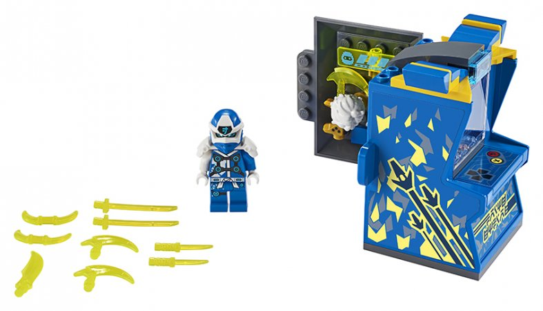 LEGO Ninjago 71715 - Jayův avatar - arkádový automat