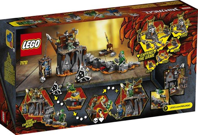 LEGO Ninjago 71717 - Výprava do Jeskyně lebek