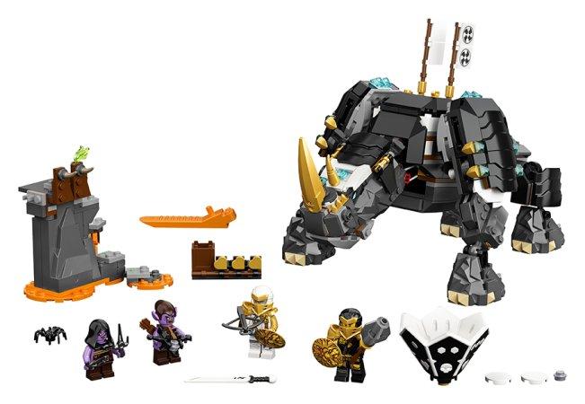 LEGO Ninjago 71719 - Zaneův nindžorožec