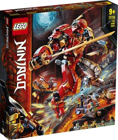 LEGO Ninjago 71720 - Robot ohně a kamene
