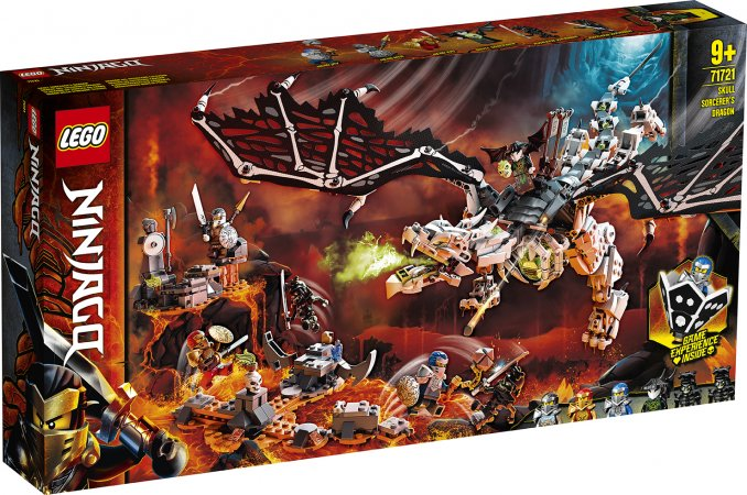 LEGO Ninjago 71721 - Drak Čaroděje lebek