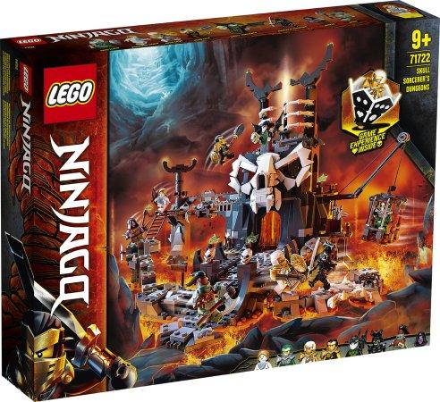 LEGO Ninjago 71722 - Kobky Čaroděje lebek
