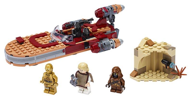 LEGO Star Wars 75271 - Pozemní spídr Luka Skywalkera