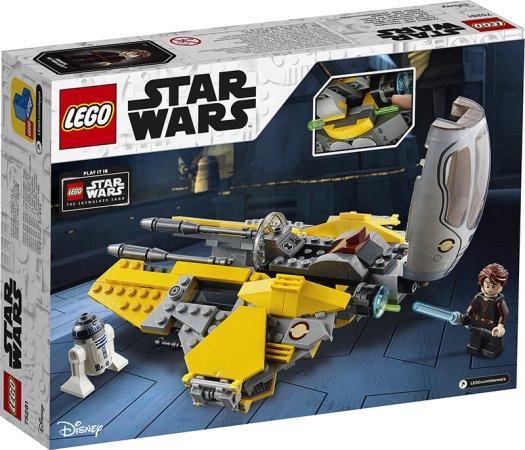 LEGO Star Wars 75281 - Anakinova jediská stíhačka