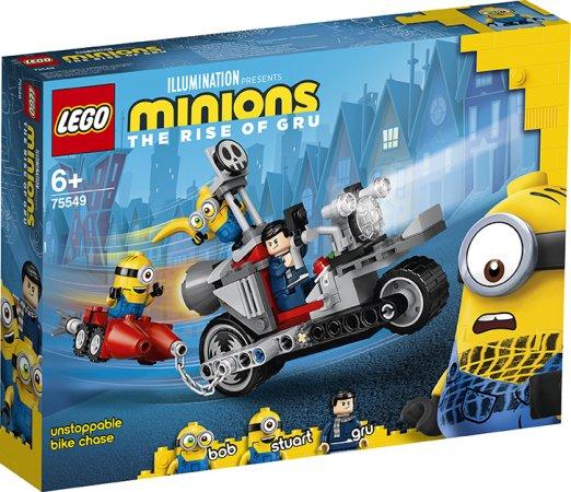 LEGO Minions 75549 - Divoká honička na motorce