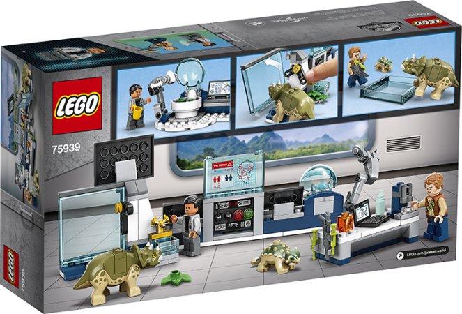 LEGO Jurassic World 75939 - Laboratoř Dr. Wu: Útěk dinosauřích mláďat