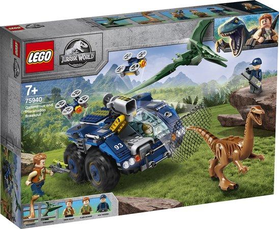 LEGO Jurassic World 75940 - Útěk gallimima a pteranodona