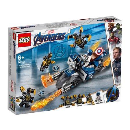LEGO Marvel Avengers 76123 - Captain America: útok Outriderů