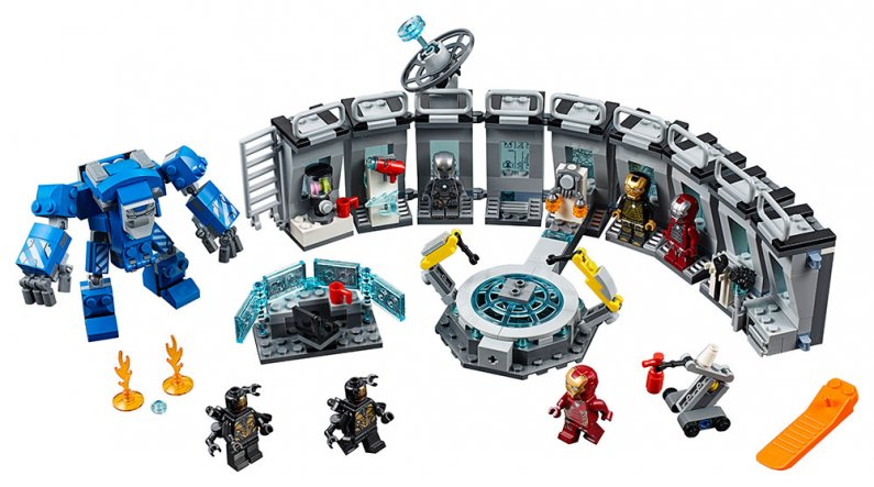 LEGO Marvel Avengers 76125 - Iron Man a jeho obleky
