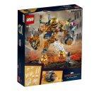 LEGO Marvel Spiderman 76128 - Boj s Molten Manem