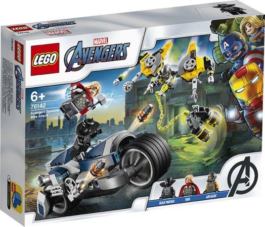 LEGO Marvel Avengers 76142 - Zběsilý útok na motorce