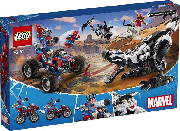 LEGO Marvel Spiderman 76151 - Léčka na Venomosaura