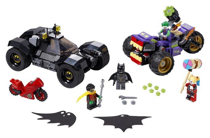 LEGO DC 76159 - Pronásledování Jokera na tříkolce