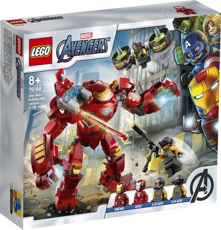 LEGO Marvel Avengers 76164 - Iron Man Hulkbuster proti agentovi A.I.M.