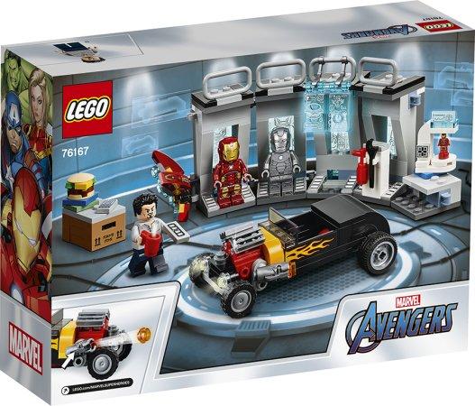 LEGO Marvel Avengers 76167 - Zbrojnice Iron Mana