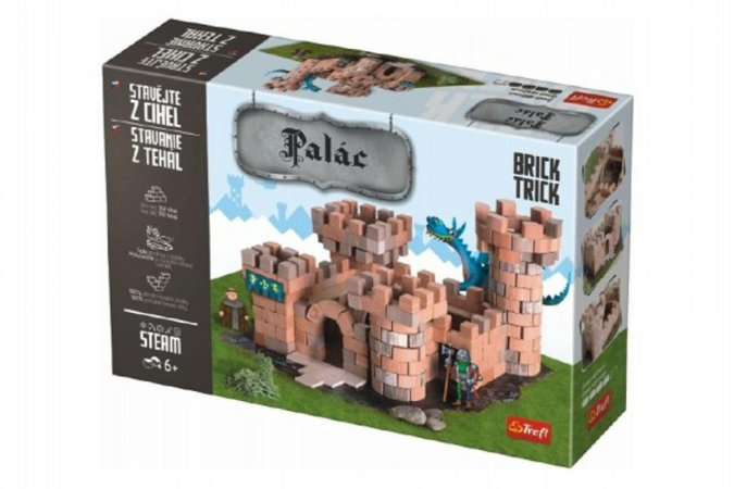 Trefl Brick Trick - Stavějte z cihel - Palác