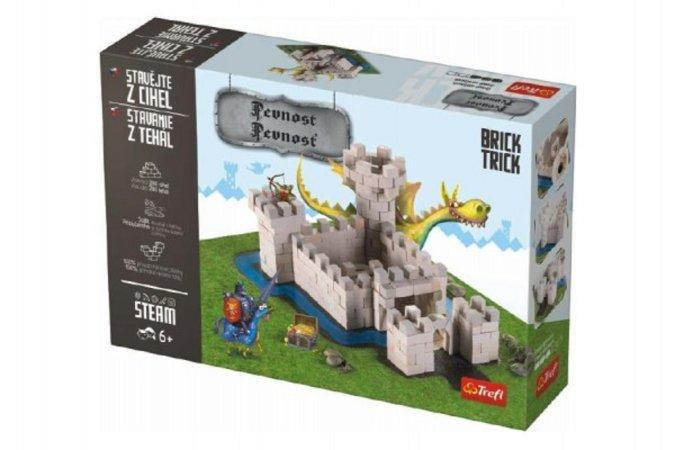 Trefl Brick Trick - Stavějte z cihel - Pevnost