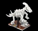 Mikro trading LiNooS stavebnice Dino Museum - Skelet dinosaurus Hadrosaurus - 180 ks