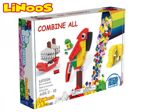 Mikro trading LiNooS stavebnice - 250 ks