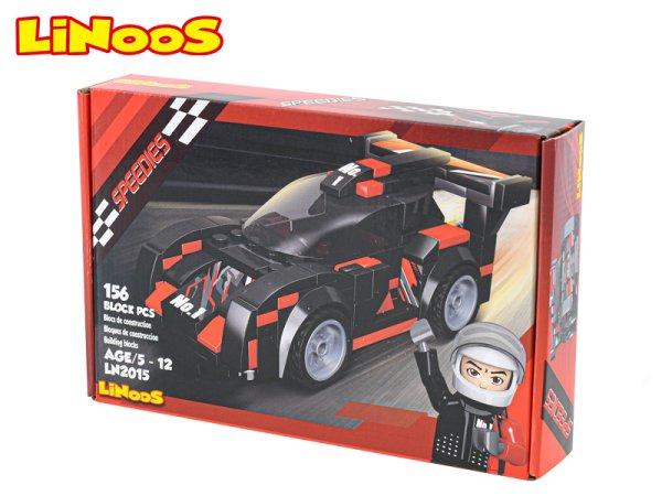 Mikro trading LiNooS stavebnice Speedies - Auto sportovní - 156 ks