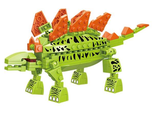Mikro trading LiNooS stavebnice Dinosaurs - dinosaurus Stegosaurus - 112 ks