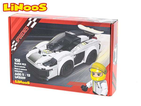 Mikro trading LiNooS stavebnice Speedies - Auto sportovní - 158 ks