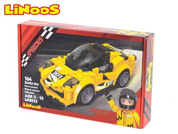 Mikro trading LiNooS stavebnice Speedies - Auto sportovní - 164 ks