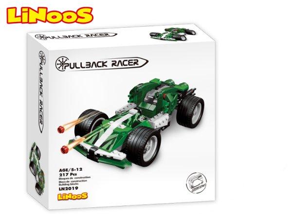 Mikro trading LiNooS stavebnice Pullback Racer - Auto sportovní - 217 ks